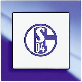 Busch-Jaeger invoegen tuimelschakelaar Axcent blauw, wit 2000/6 UJ/02