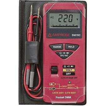 BEHA Amprobe DM78C kannettava yleismittari digitaalinen CAT II 600 V, CAT III 300 V näyttö (laskee): 3400