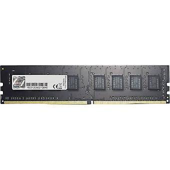 G.Skill PC RAM memory Value F4-2400C15S-8GNT 8 GB 1 x 8 GB DDR4 RAM 2400 MHz CL15-15-15-35