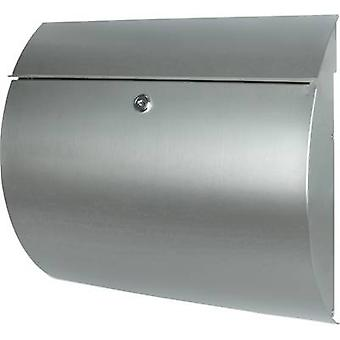 Letterbox Burg Wächter 38640 TOSCANA 3856 Ni Stainless steel Silver Key