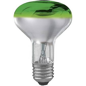 Paulmann Light bulb EEC: E (A++ - E) 230 V E-27 60 W Green Reflector bulb dimmable Content 1 pc(s)