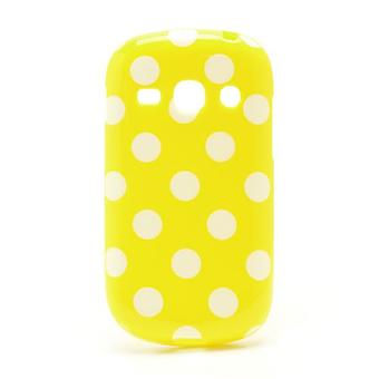 Protective case for mobile Samsung Galaxy fame S6810 yellow