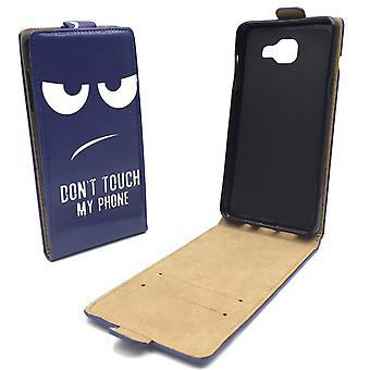 Mobile phone case pochette pour mobile Samsung Galaxy A5 2016 ne touche pas mon téléphone