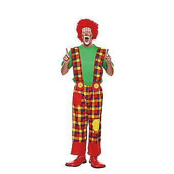 Clownhose mężczyzn kostium cyrkowy głupi karnawał