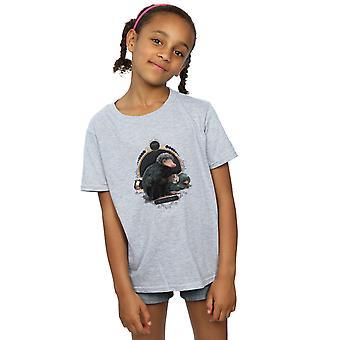 Fantastic Beasts Girls Baby Nifflers T-Shirt
