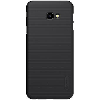 NILLKIN Samsung Galaxy J4 + Frosted shell hard-zwart