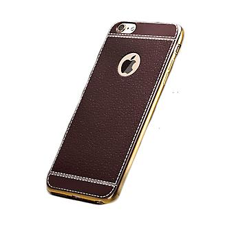 Timber brown Phone case - iPhone 8