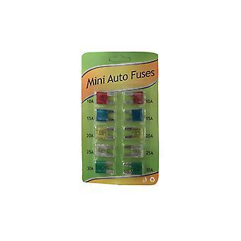 Flat fuses Mini 10-Pack