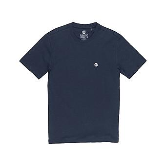 Element Crail Short Sleeve T-Shirt in Eclipse Navy