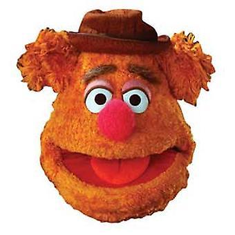 Fozzie karhu kortti fancy mekko naamio (muppets)