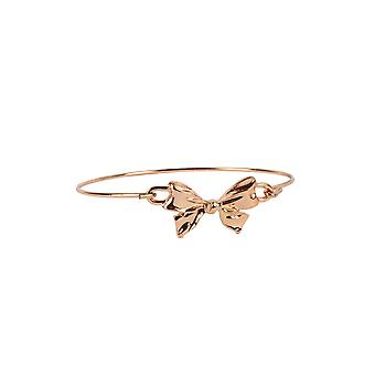 Lovemystyle Gold Bangle With Bow Clasp