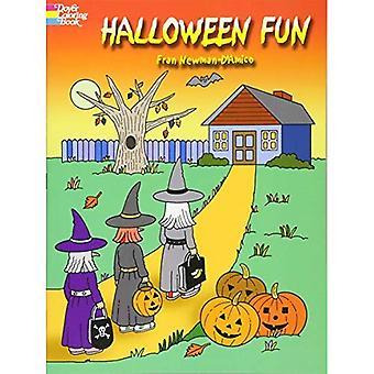 Halloween kul (Dover målarbok)