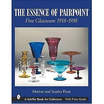 Esencja Pairpoint: ekskluzywne szkło 1918-1938 (Schiffer książki dla kolekcjonerów)