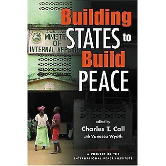 Byggnaden stater att bygga fred