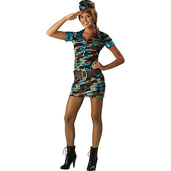 Army Girl Teen Costume