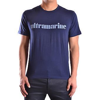 Marc Jacobs Ezbc062038 Uomo's T-shirt In cotone blu