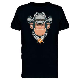 Cowboy Chimpanzee Head Tee Men's -Image by Shutterstock