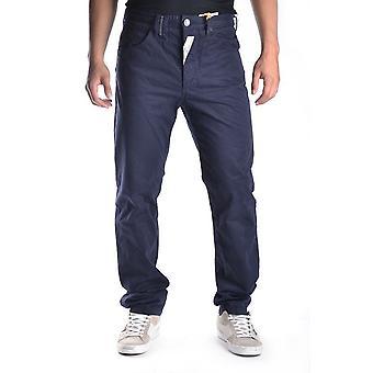 John Galliano Ezbc189020 Men's Blue Cotton Pants