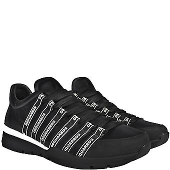 DSquared2 dsquared logo Lace-up lage top sneakers