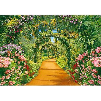 Fond d'écran Mural Flower Alley