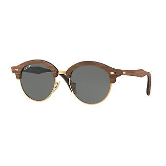Clubround Ray Ban gafas de sol marrón madera RB4246M-118158-51
