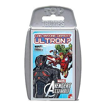 Top Trumps Marvel Avengers montam