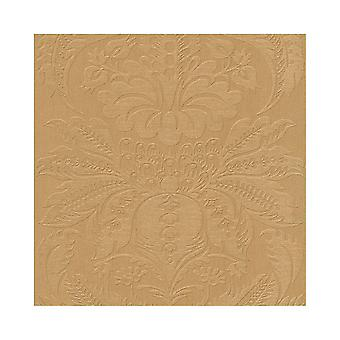 Rasch Non Woven Faux Embossed Pattern Damask Retro  Flat Surface Wallpaper 515268