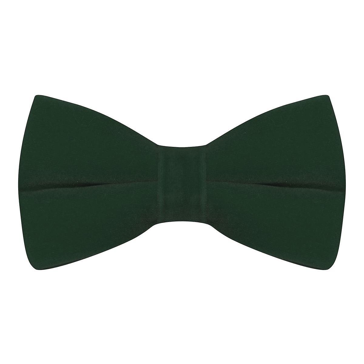 Luxury Dark Green Velvet Bow Tie