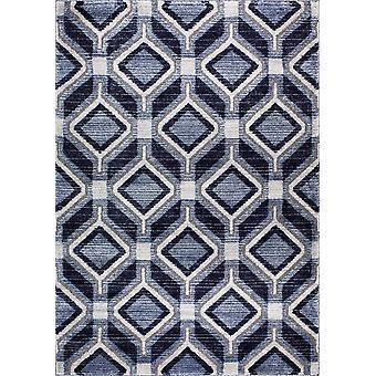 Design matto korkealaatuista tummansininen/laivastonsininen