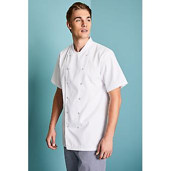 Simon Jersey Unisex Short Sleeve Giacca Chef