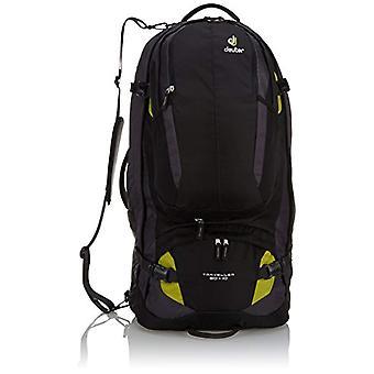 Deuter Traveller 80 - 10 - Unisex Backpacks Adult - Black (Black/Moss) - 24x36x45 cm (W x H L)