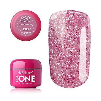 Base One-Las Vegas-Bellagio Pink 5g gel UV