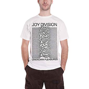 Joy Division T Shirt Unknown Pleasures new Official Mens White
