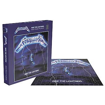 Metallica Jigsaw Puzzle Ride The Lightning Album Cover new Official 500 Piece