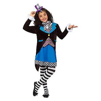 Little Miss Mädchen Hutmacher Kostüm