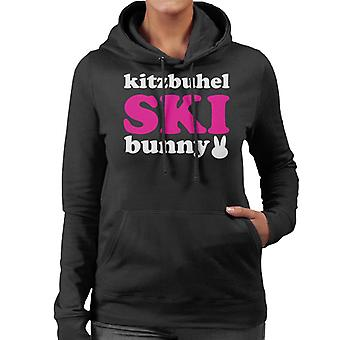 Kitzbuhel Ski Bunny Women's Hooded Sweatshirt