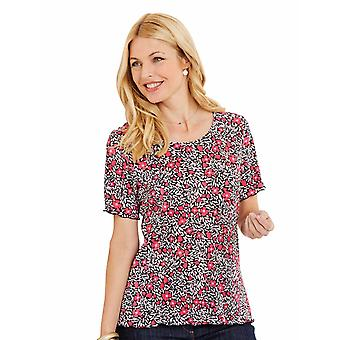 Amber Ladies Plisse Top