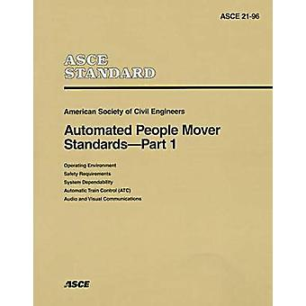 Automated People Mover Standards Pt. 1 - 9780784401934 Book