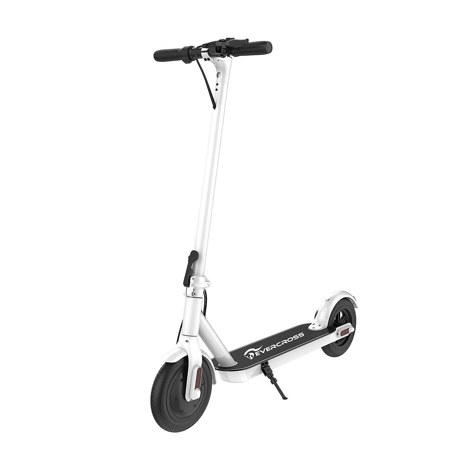 COLORWAY Electric Scooter Adult, 6Ah 25Km Long-Range Battery, 250W Motor Up to 25 km/h, 8.5 Inch Solid Rubber Tire, Foldable E-Scooter Portable &Lightweight Design