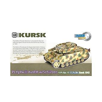 Dragon Armor Dragon Tank - 1:72 - 60623 Kursk Pz.Kpfw.III W/Schurzen