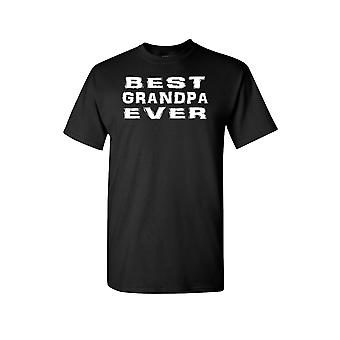 Unisex Best Grandpa Ever Short Sleeve Shirt