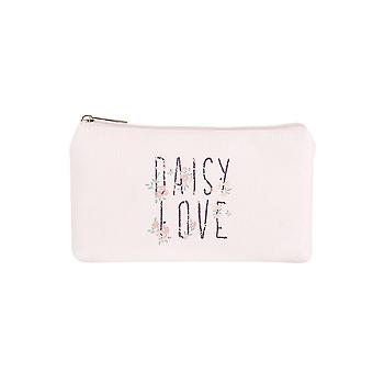 Jewelcity Womens/Ladies Daisy Love Small Flat Makeup Bag
