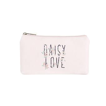 Jewelcity Womens/Ladies Daisy Love Petit sac de maquillage plat
