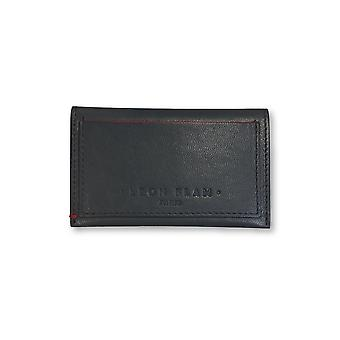Leon Flam Paris double card holder in grey
