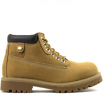 Skechers الرقباء الحكم الرجال المقاوم للماء الأحذية القمح / العلكة