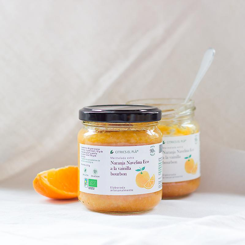 Mermelada Extra de naranja Navelina Eco  210 gr
