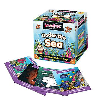 BrainBox Under The Sea Game (55 Cards)