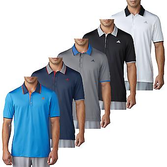 adidas Golf Herren Climacool Performance LC Logo Polo