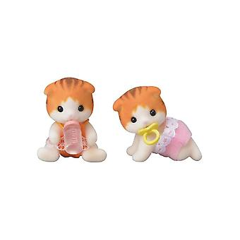 Sylvanian Families  5292 Maple Cat Twins
