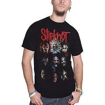 Slipknot T Shirt Prepare for Hell Tour 2014 new Official Mens Black